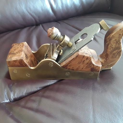 Moroccan Infill Smoothing Plane by David Winder