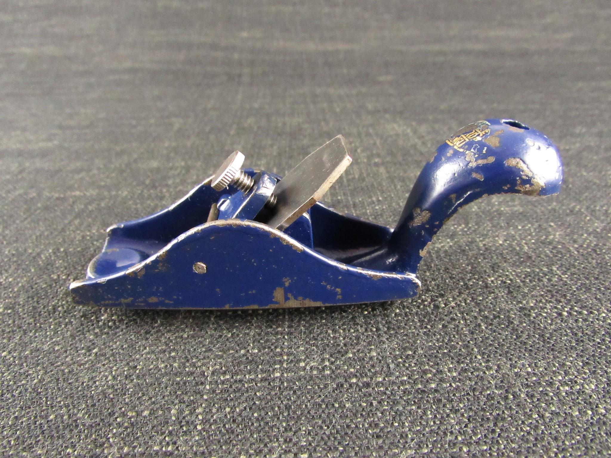 Rare RECORD 0100 1/2 Model Makers' Plane - Block Plane
