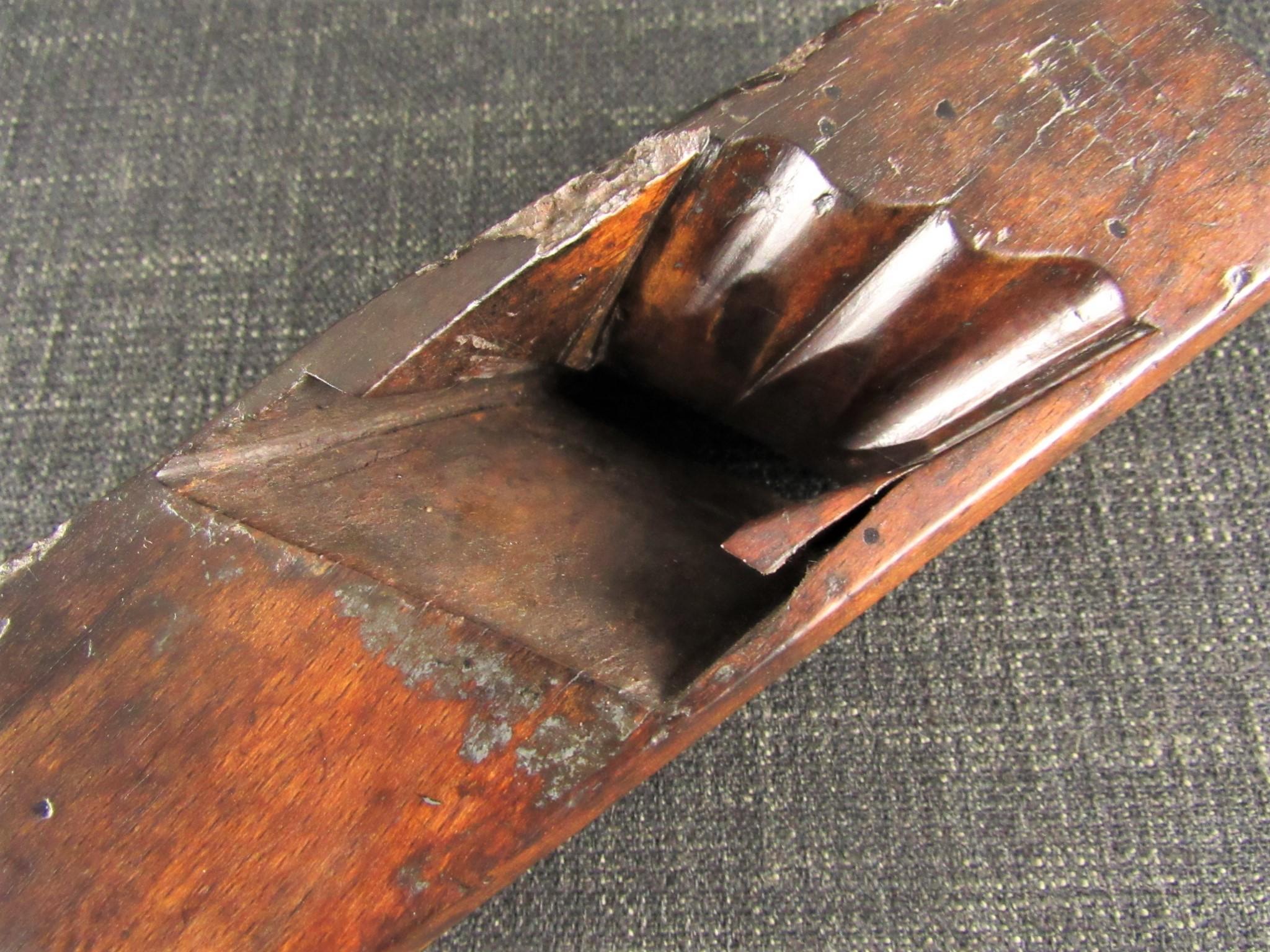 Worth Saving? 18th Century Cupids Bow Panel Plane