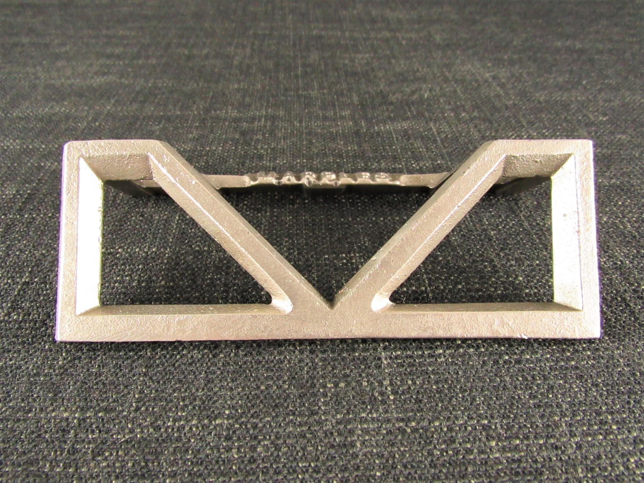 Nickel Plated MARPLES Square & Mitre Template