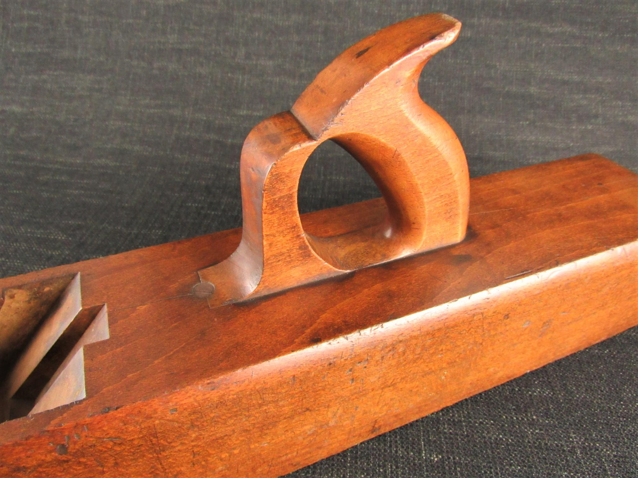 Antique NELSON Jointer Plane with Offset Handle - 26 inch