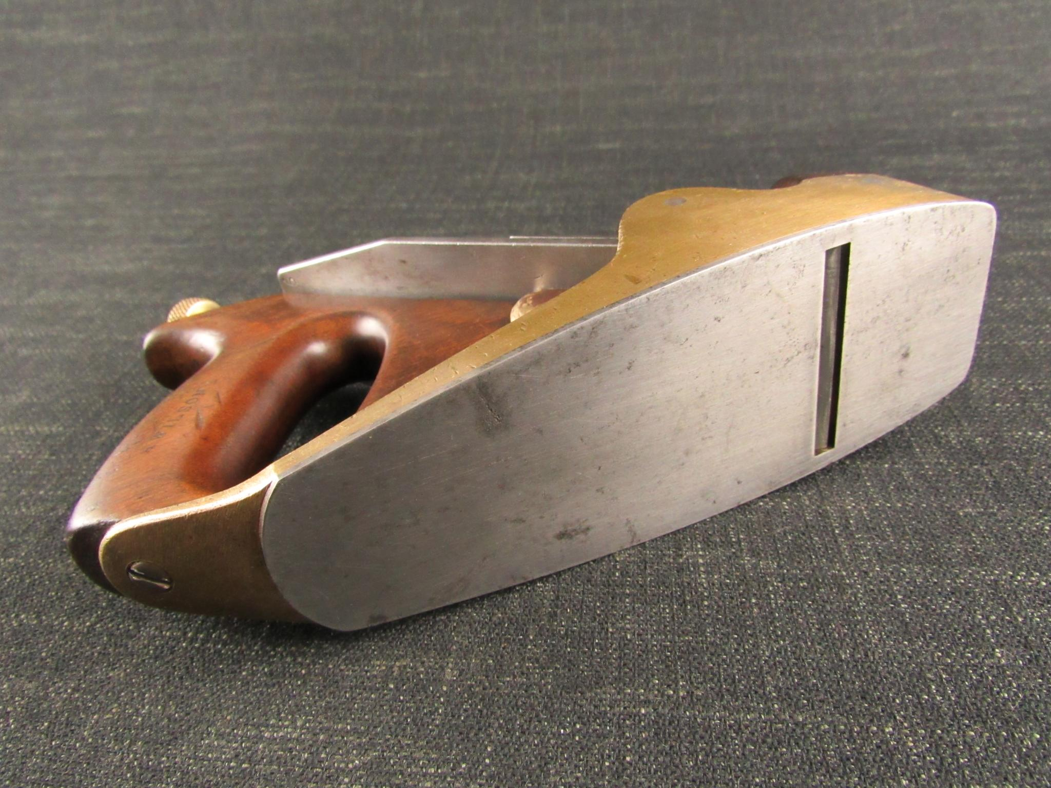 NORRIS 50G Plane - Adjustable Steel Soled Gunmetal Smoothing Plane