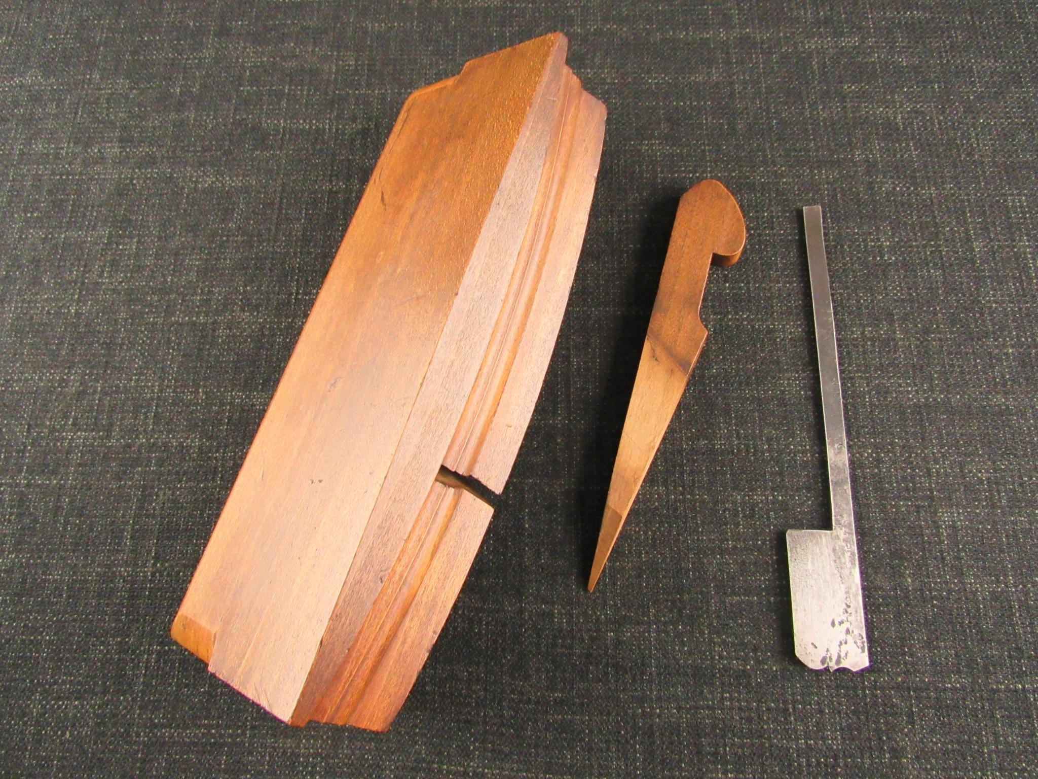 Rare JOHN GREEN Curved Moulding Plane - Sash Window Plane