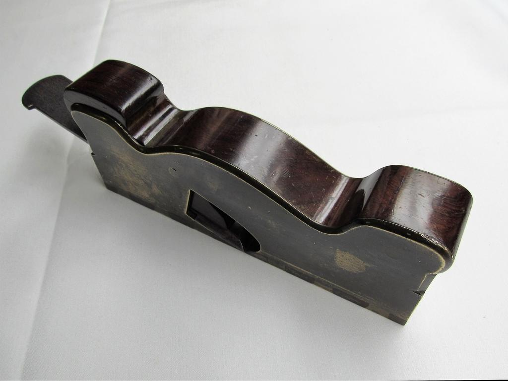 Rare Dovetailed Gunmetal Shoulder Plane by Spiers