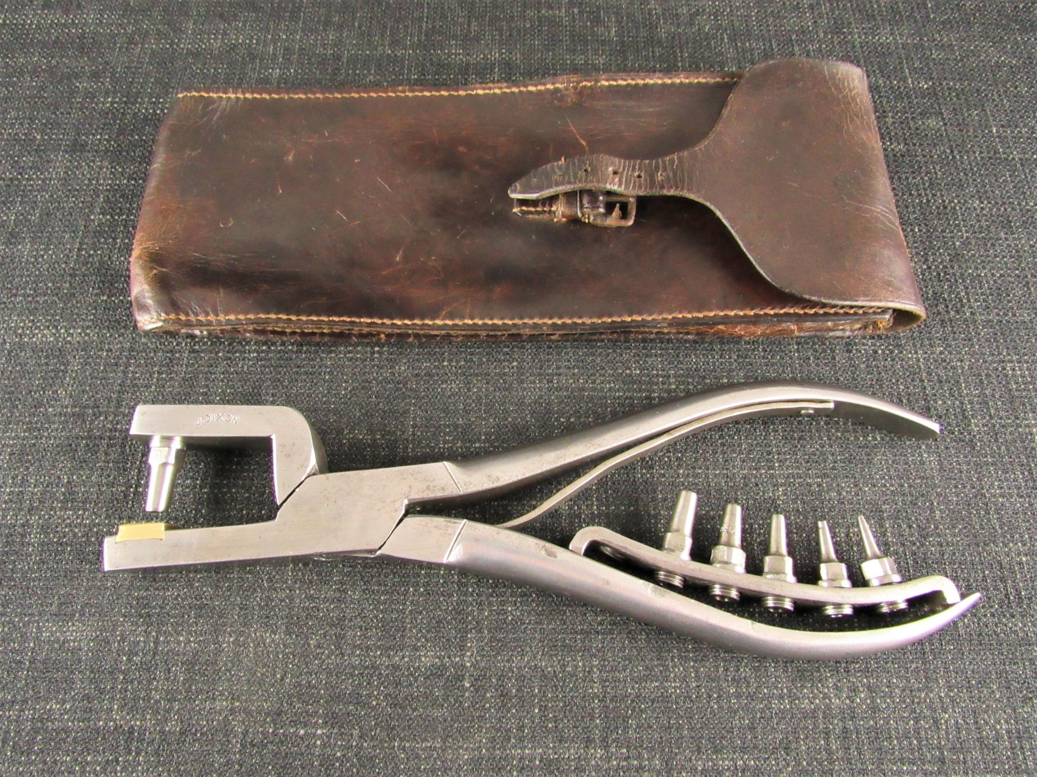 Joseph DIXON Saddlers & Harness Makers Punch Pliers with Bits