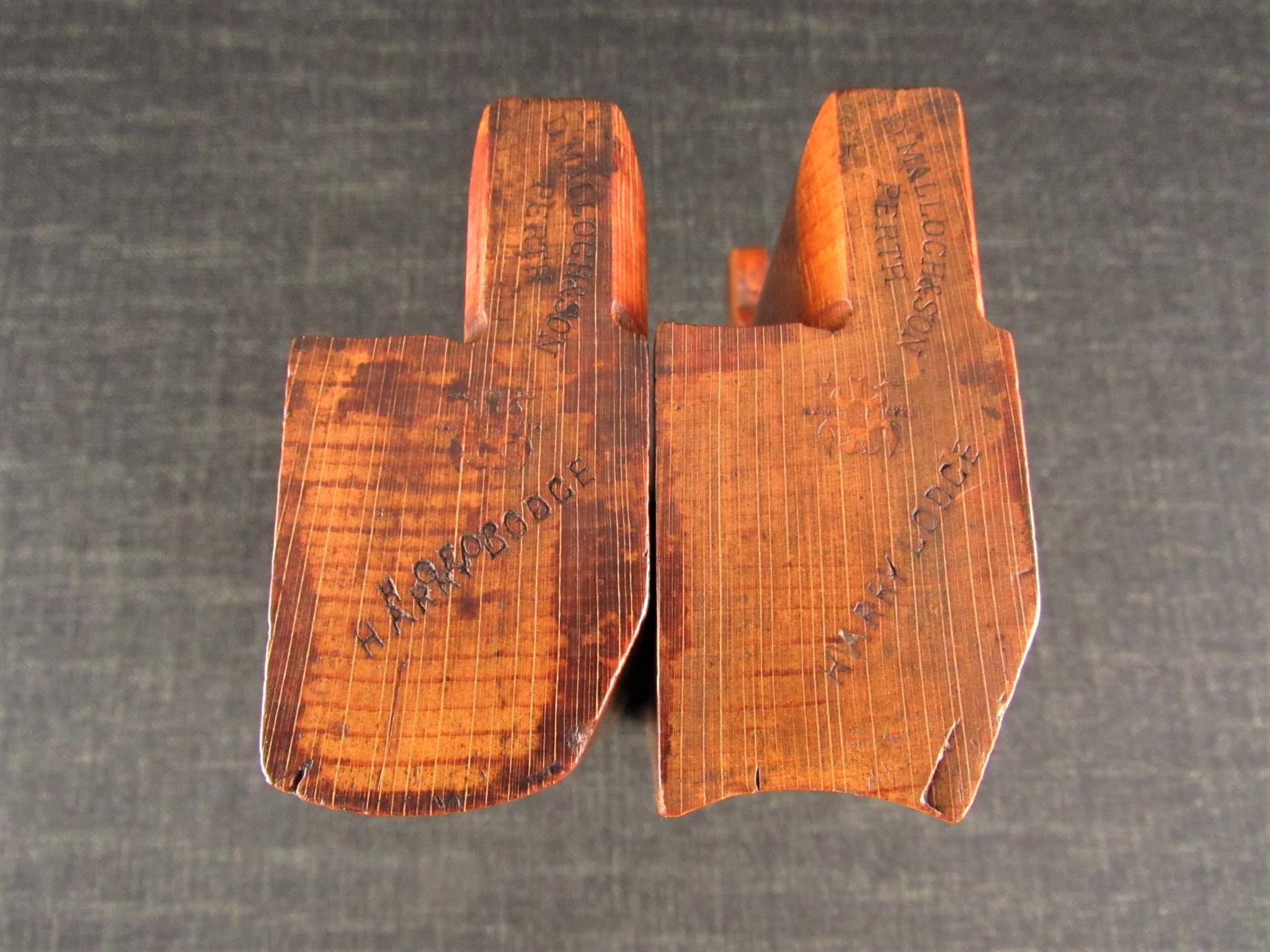 MALLOCH No.16 Cabinet Pitch Hollow & Round Moulding Planes