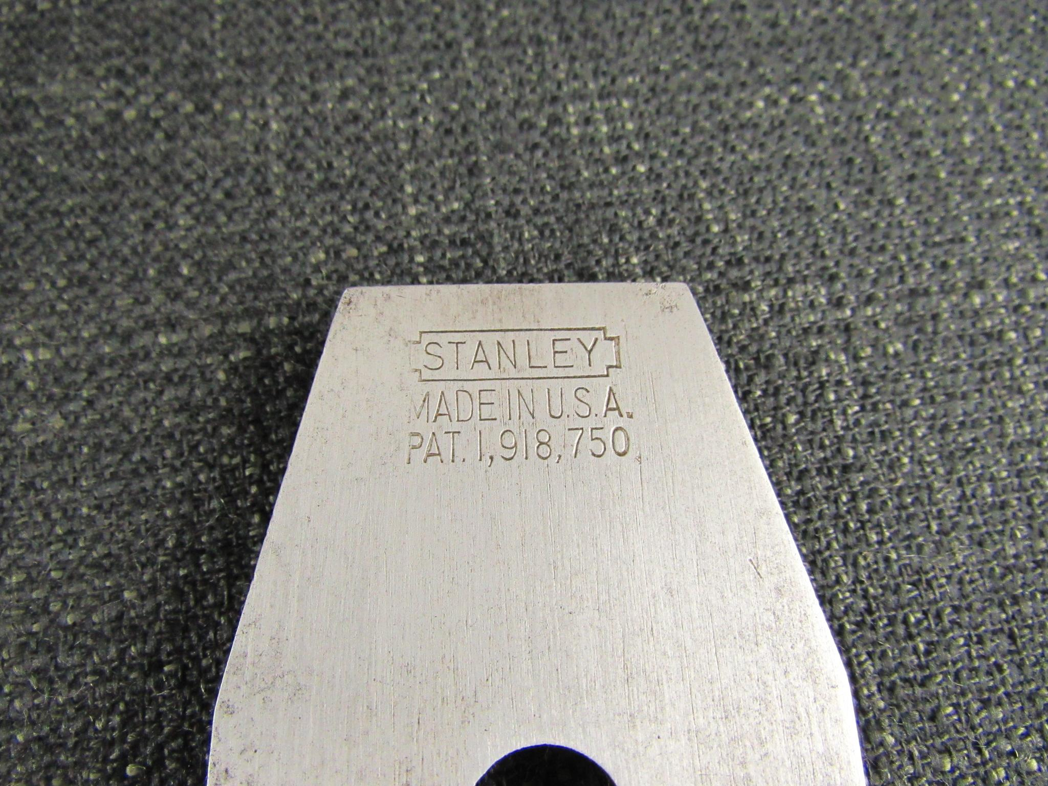 American STANLEY 10 1/2 Carriage Makers Rabbet Plane