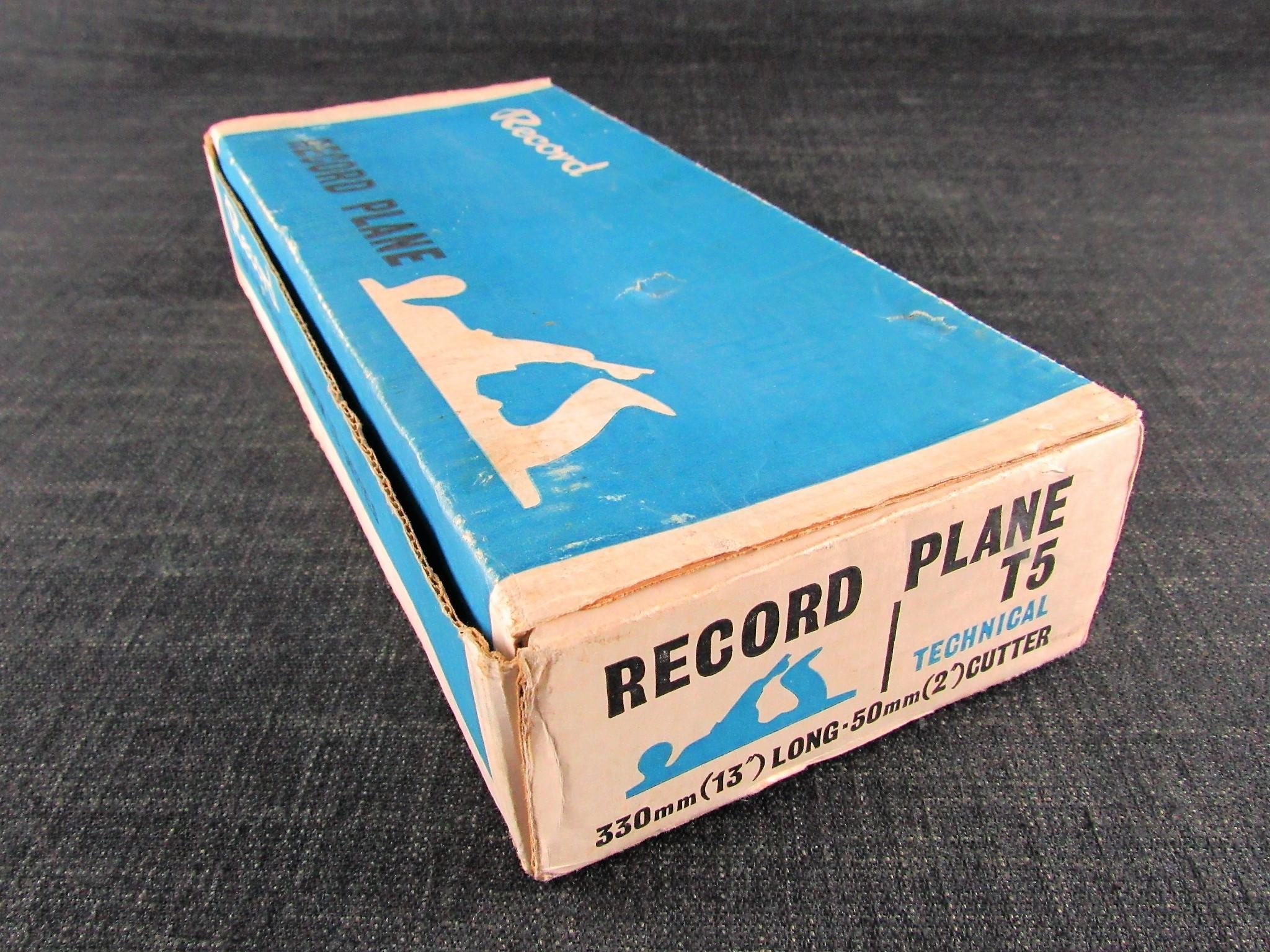 RECORD T5 Technical Jack Plane - New & Unused