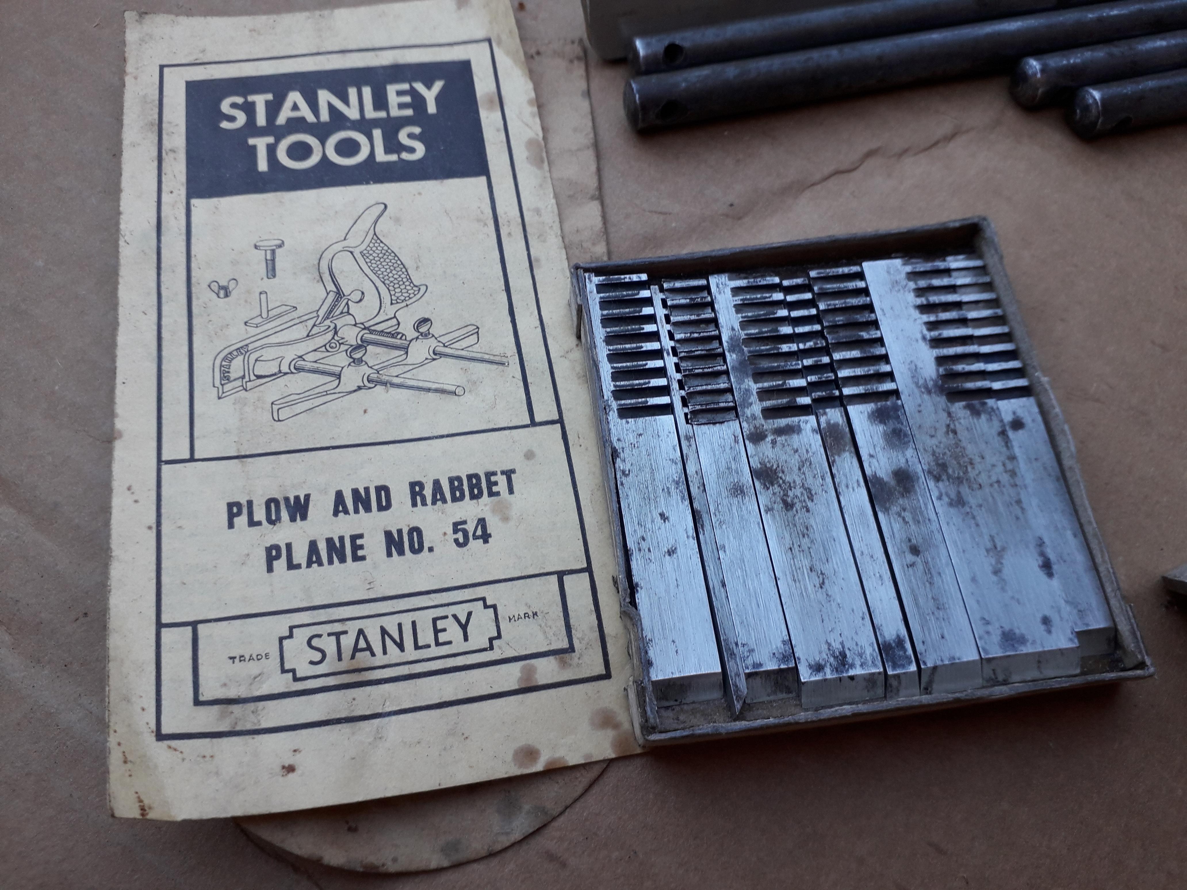 STANLEY 54 Plow & Rabbet Plane
