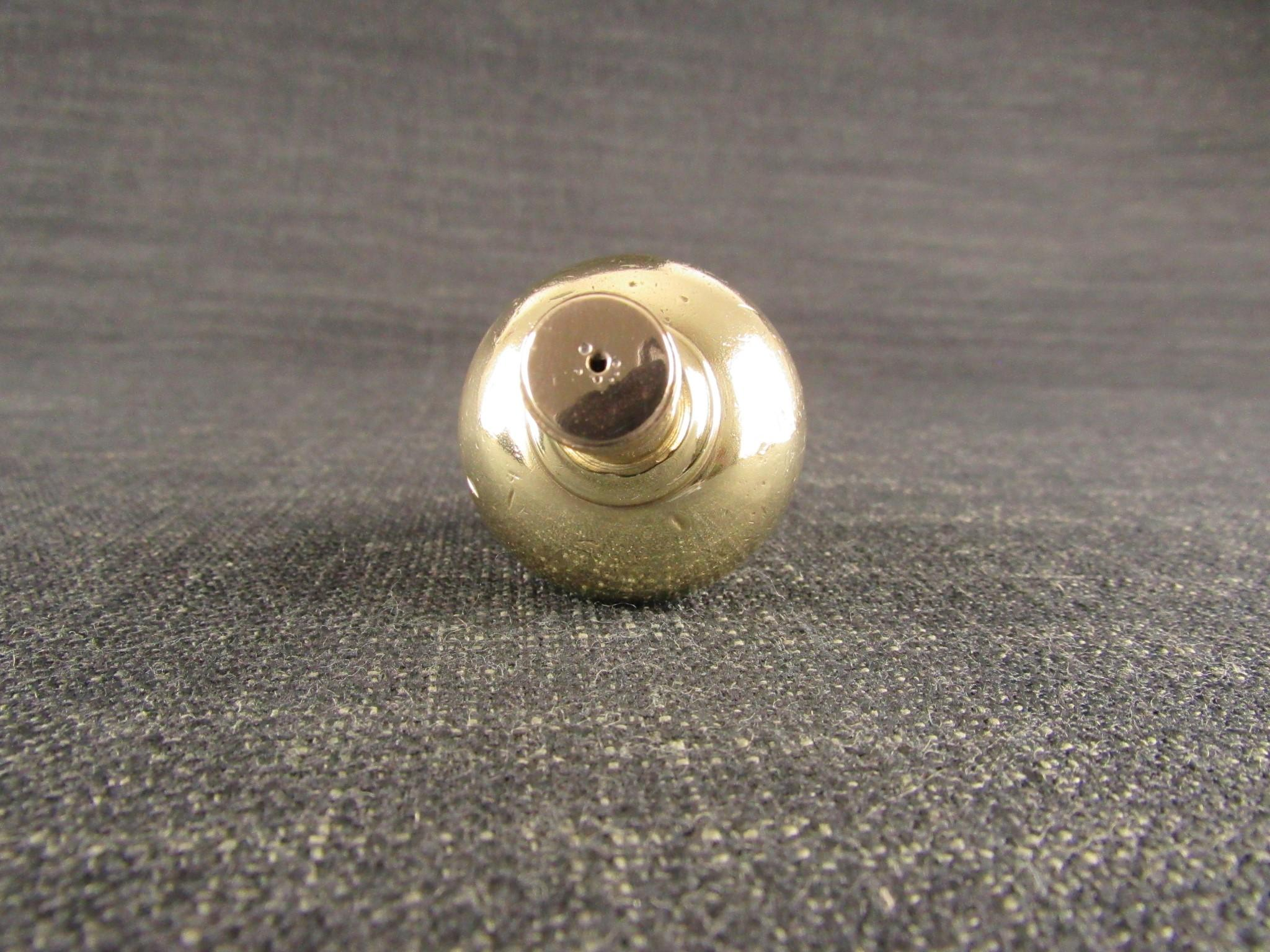 Large Brass Plumb Bob with Steel Tip