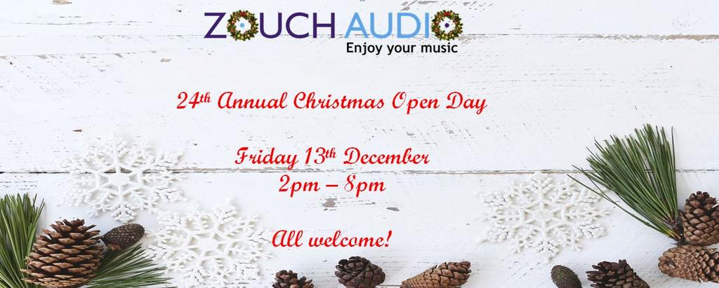 Zouch Audio's 24th Annual Christmas Open Day