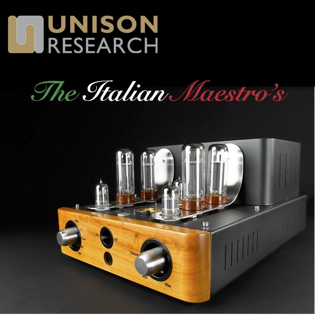 Unison Research - The Italian Maestro's