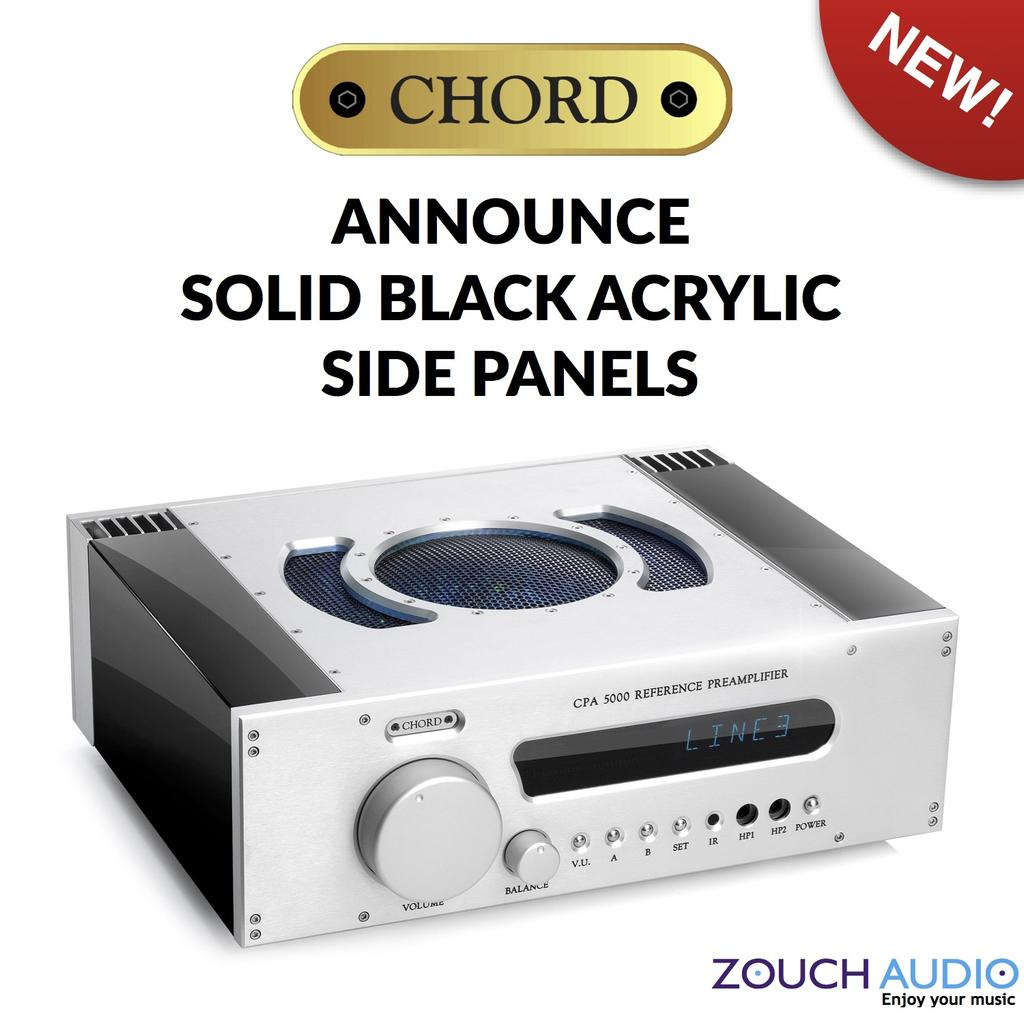 Chord Electronics announce NEW Acrylic Side Panels