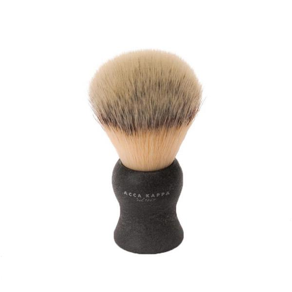 ACCA KAPPA Natural Black Synthetic Fibre Shaving Brush