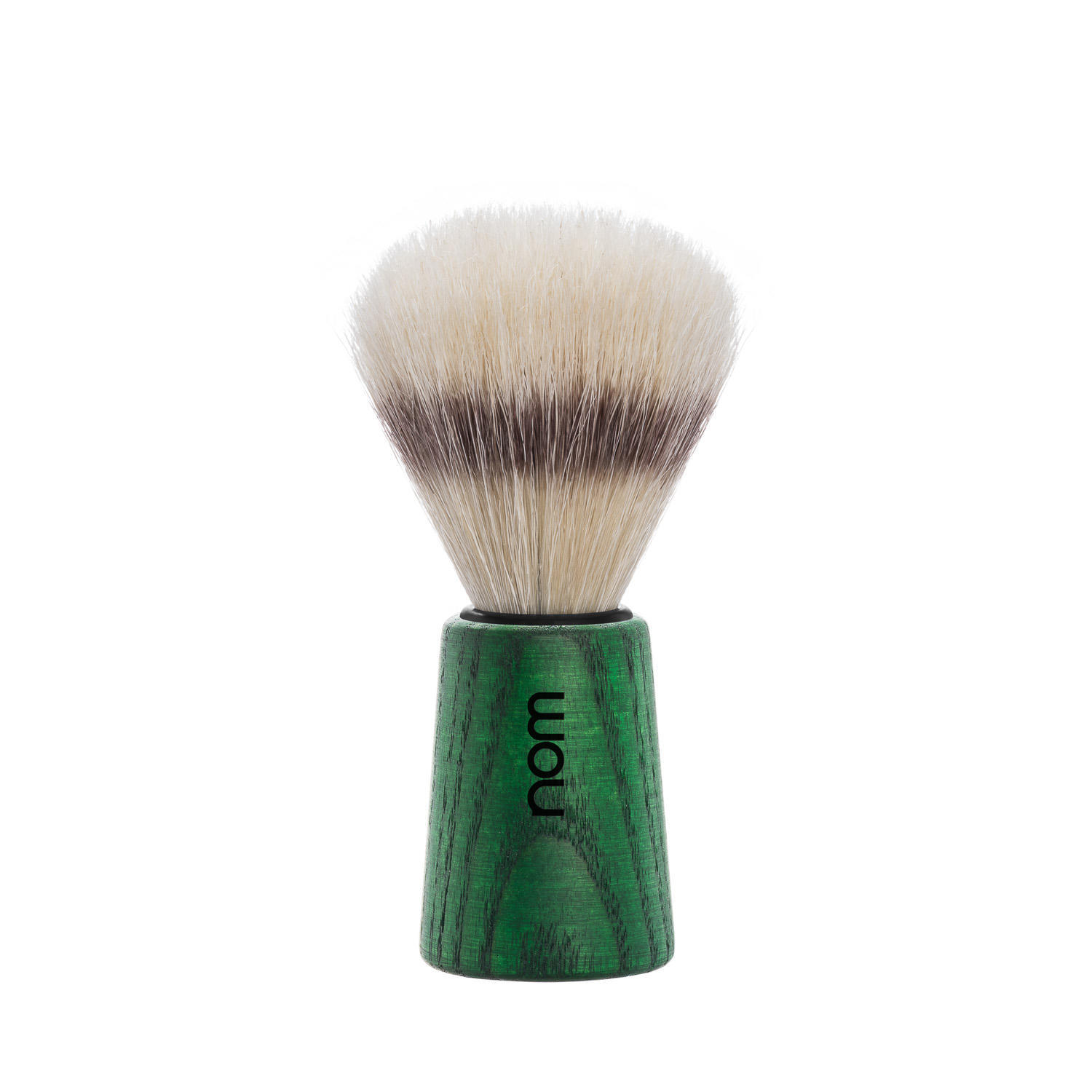 THEO41GA nom THEO, green ash, pure bristle shaving brush