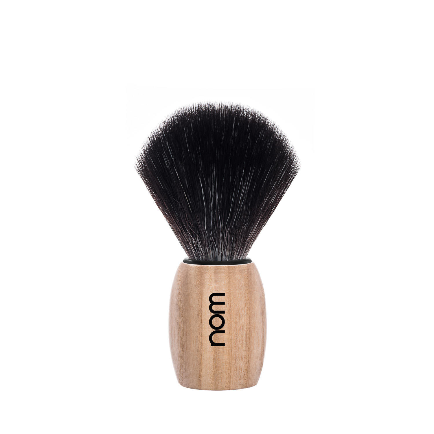 OLE21PA nom OLE, Pure Ash, Black Fibre Shaving Brush