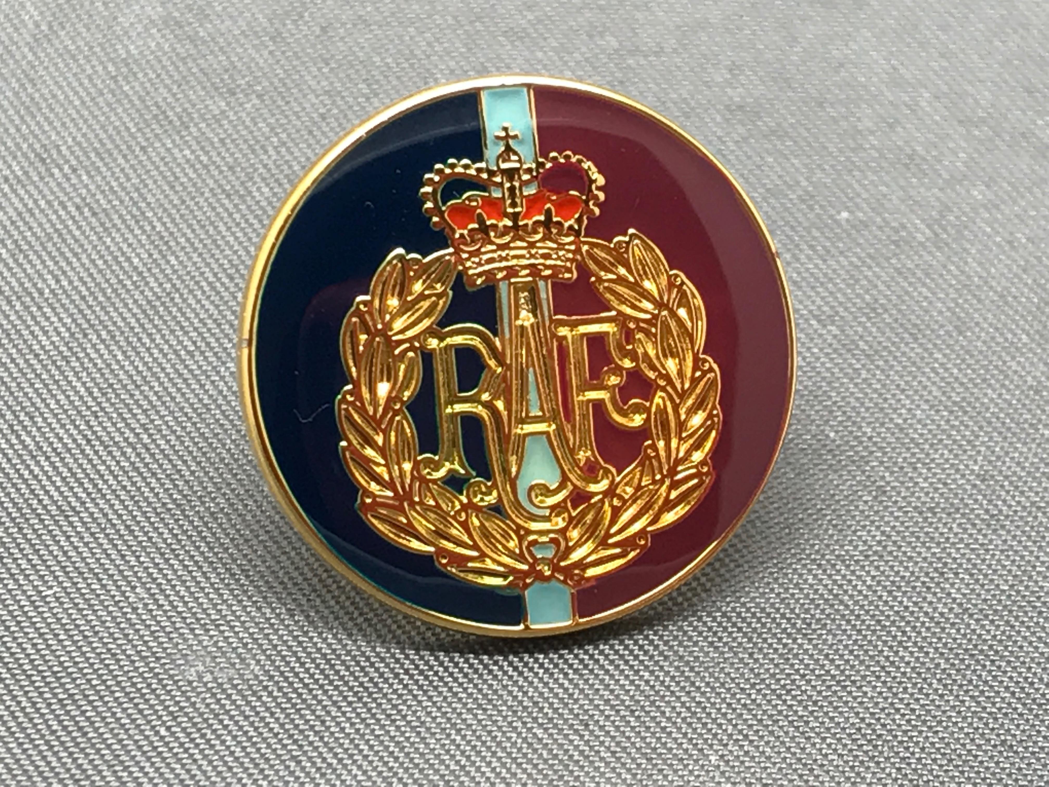 RAF Cap Badge TRF Lapel Pin
