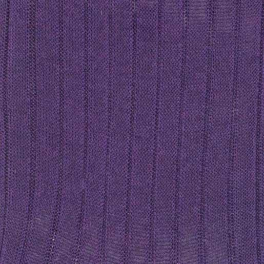Bresciani Cotton socks in purple colour zoom