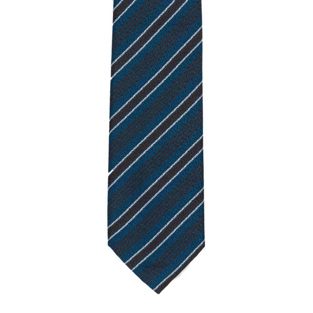 Linen tie light brown striped Nicky IHJVB4