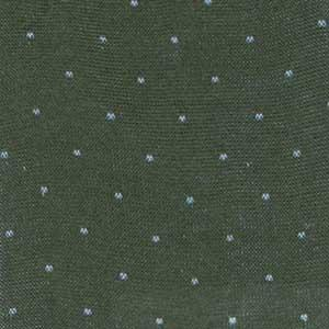 Bresciani-pindot-cotton-socks-army-green-3