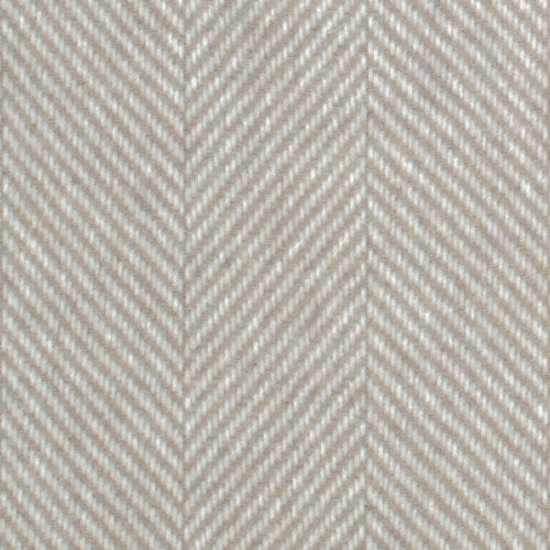 Large view of Beige herringbone pattern scarf made with 100% virgin wool
