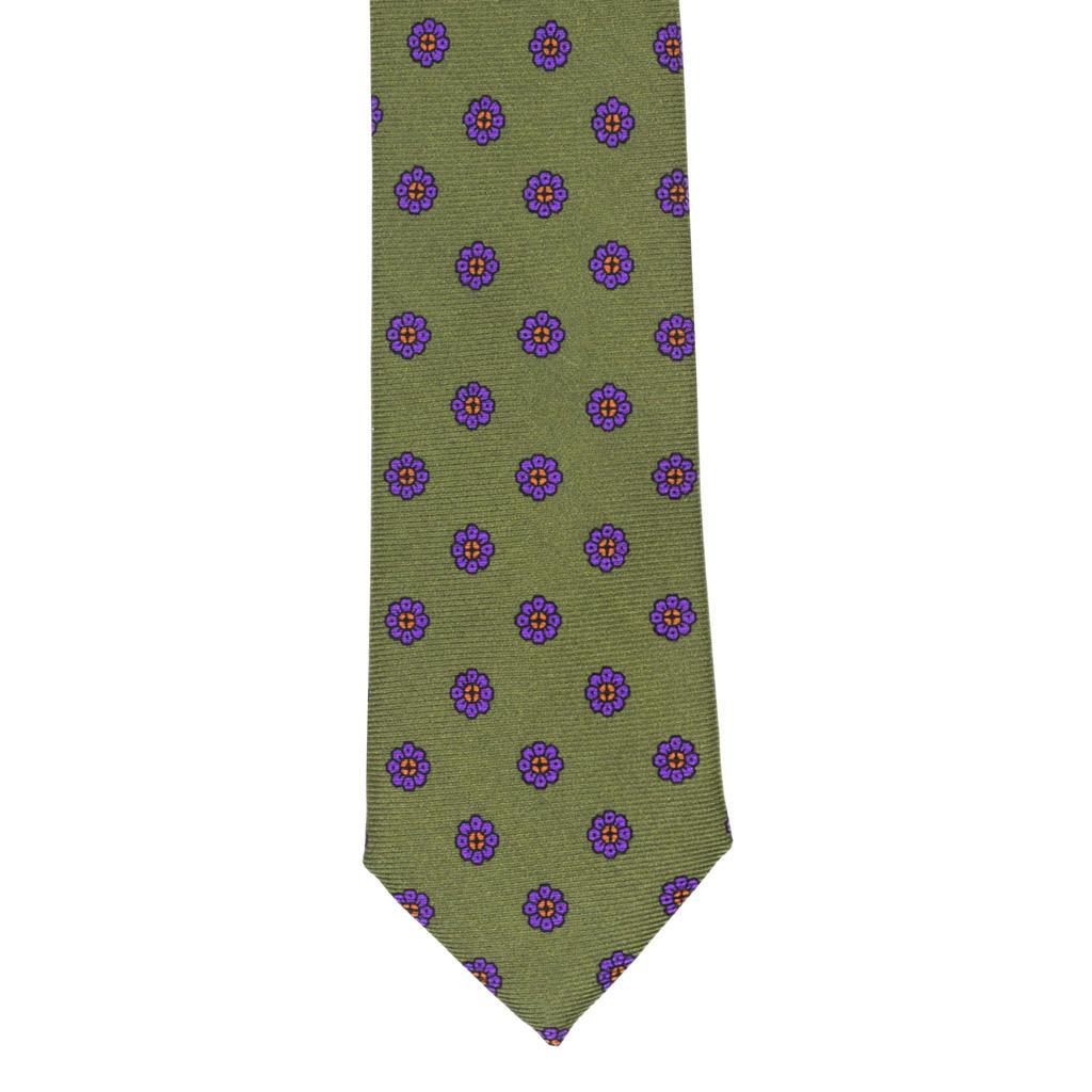 Silk tie brown Nicky pDUpqc