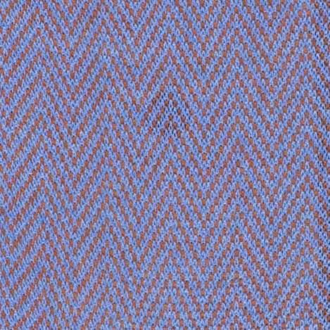 Bresciani Cotton socks in Blue & Cherry colour in Herringbone pattern zoom