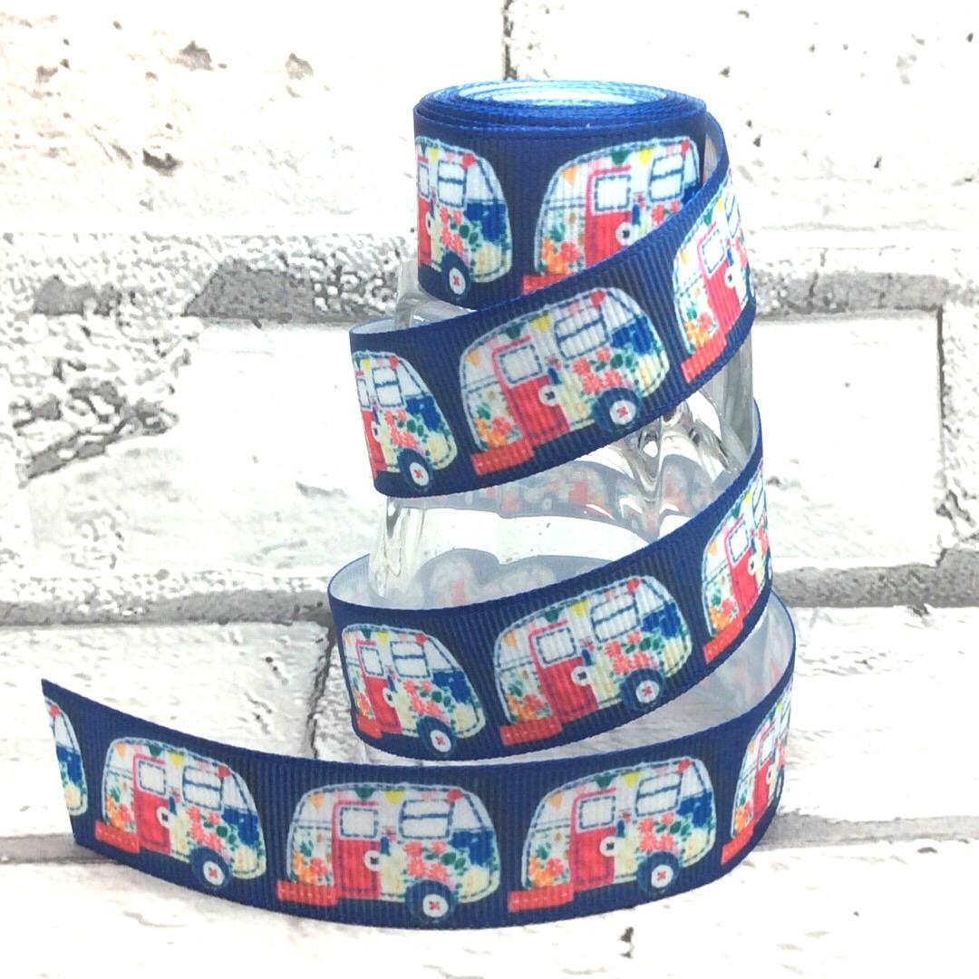 VW Campervan design dog collar