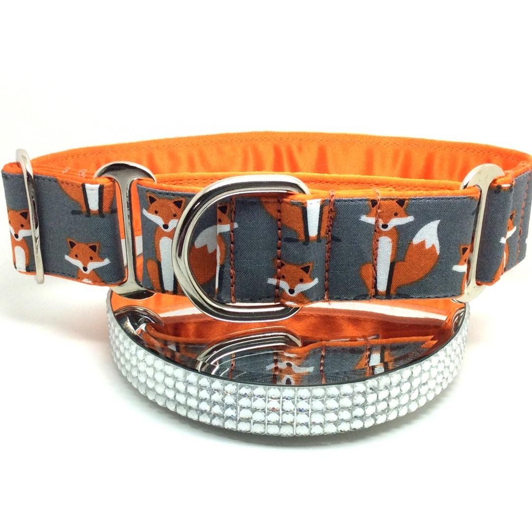 Fox Martingale  dog collar