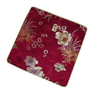 Chinese computer mouse mats with oriental floral patterns,