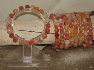 Natural carnelian gemstone fashion bracelets,