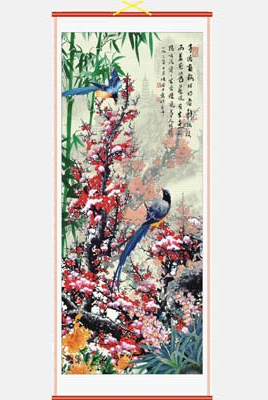 Chinese picture wall scrolls,