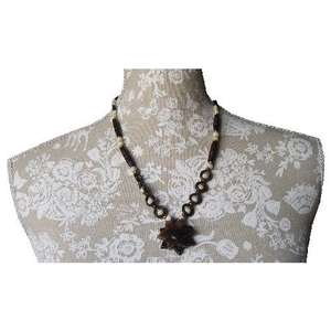 Hand made Chinese ox bone fashion necklace,