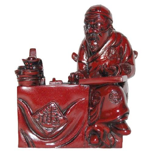 Feng shui figurine with business success symbolism,