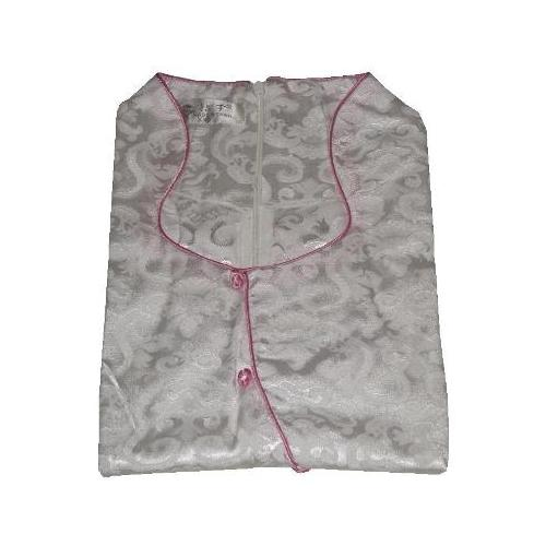 Womens Chinese dresses with pink plum blossom patterns,