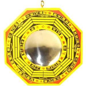Wooden Bagua mirrors to protect your home and business,