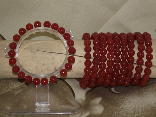 Red carnelian crystal quartz fashion bracelets,