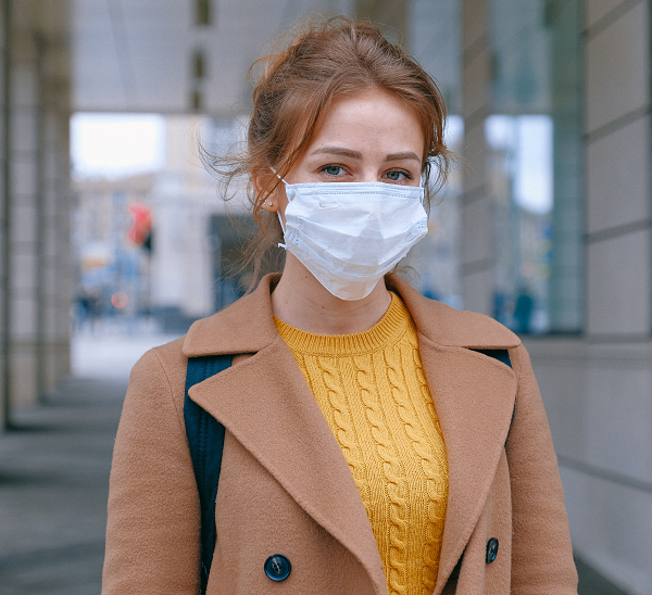 Surgical face masks for respiratory system protection,