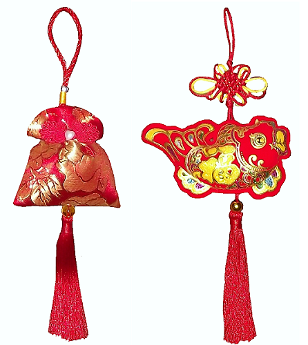 Chinese new year decorations and festival ornaments,