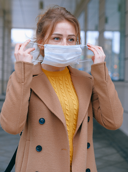 Disposable protective surgical face masks,