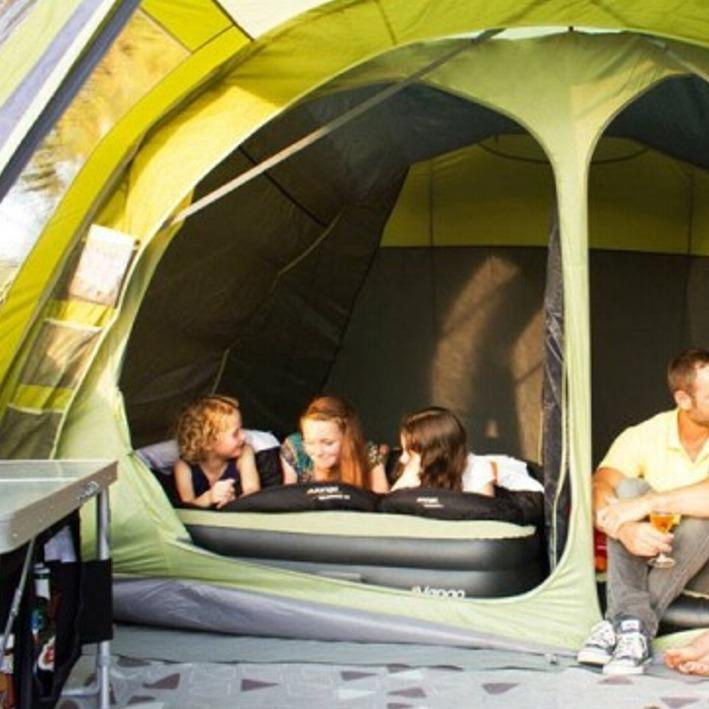 CAMPING MATS, AIRBEDS, PUMPS & FUNITURE