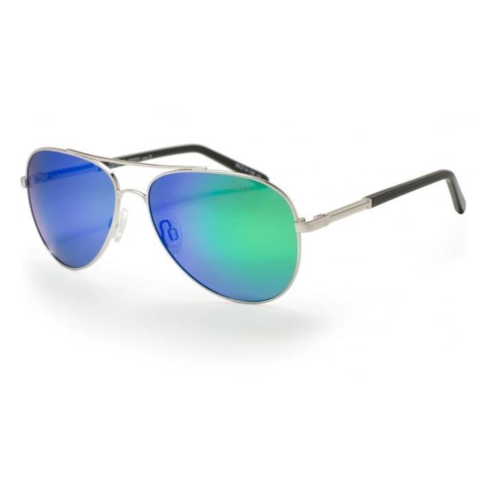 b8b96a1f0d0 Bloc Dune 2 P662 Sunglasses Gold Polarised Green Mirror £35.00