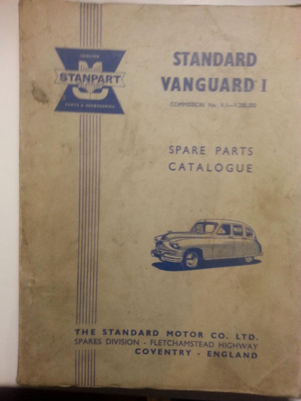 Spare Parts Catalogues