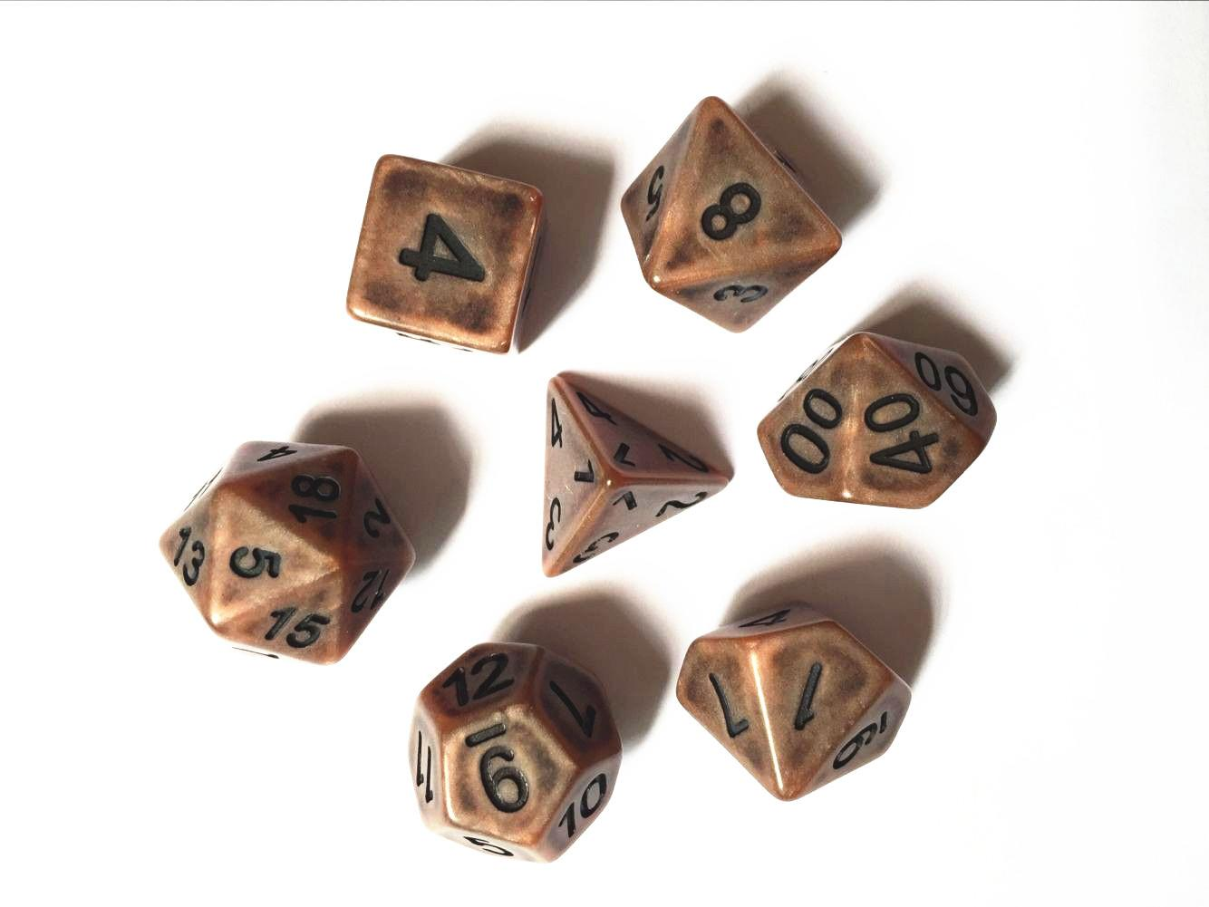 Ancient dice set