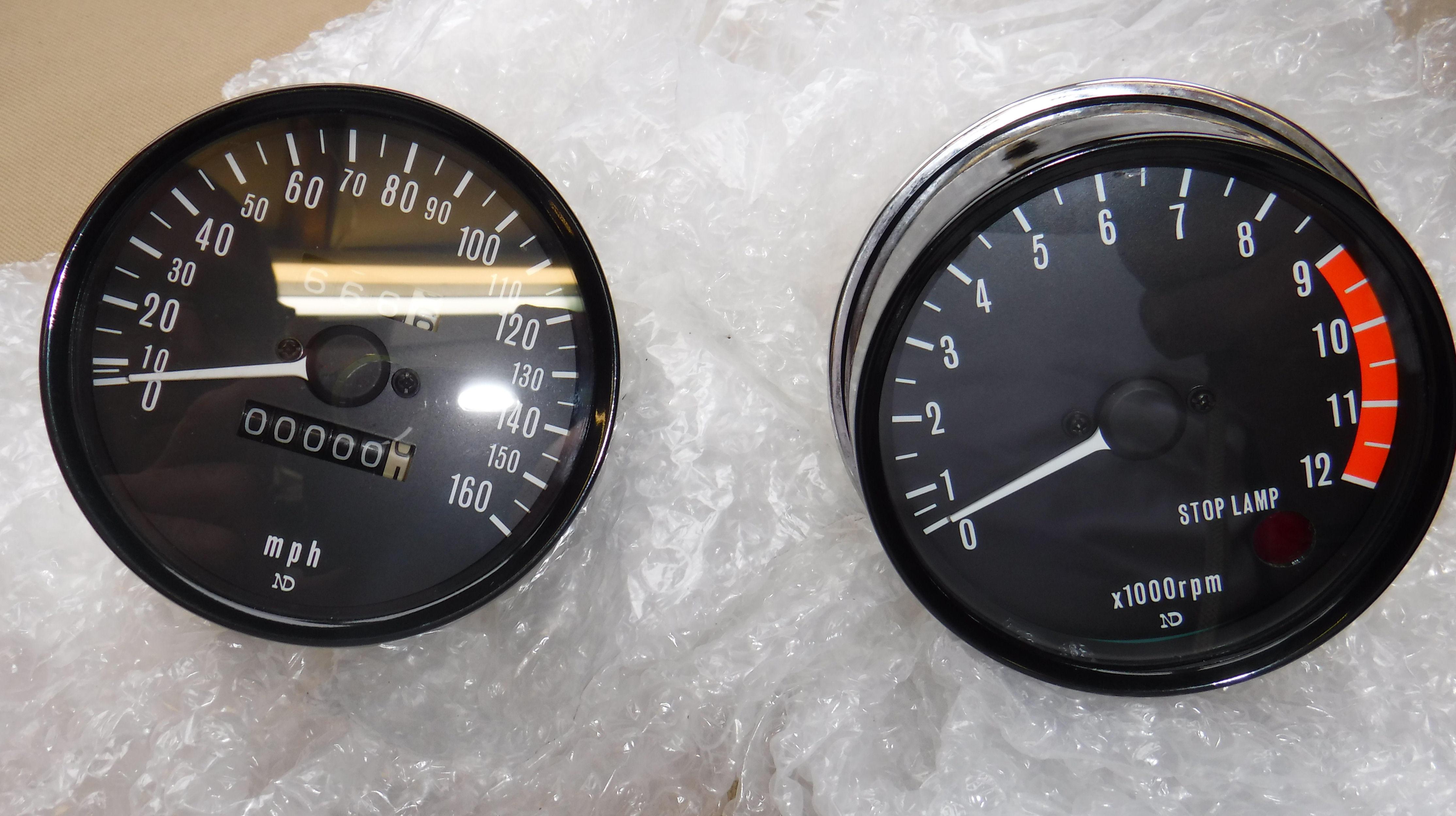 Kawasaki Z 650 F 1981 Front Right Replica//Replacement Indicator