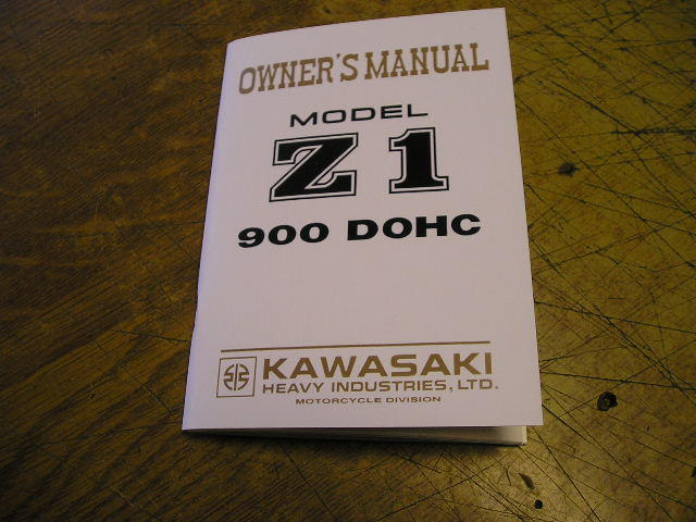 owners manual  z1