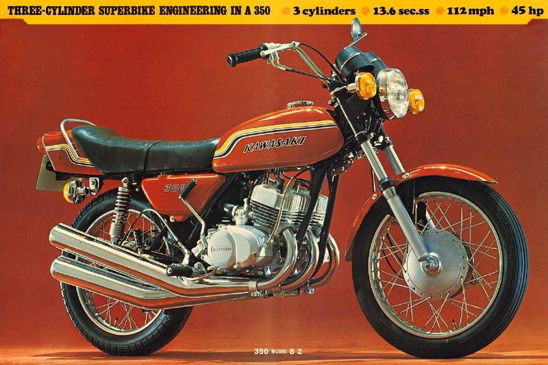 350cc Speedo Cable for 1973 Kawasaki S2-A Mach II
