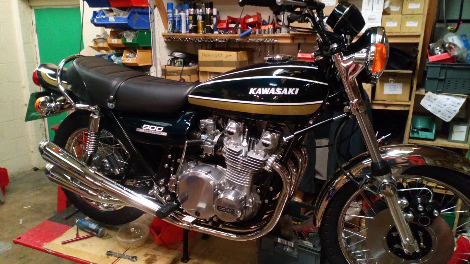 New Bike Restoration - Z1B