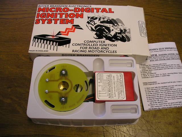 Boyer Bransden Electronic Ignition Kit Z650 Z400  500  550