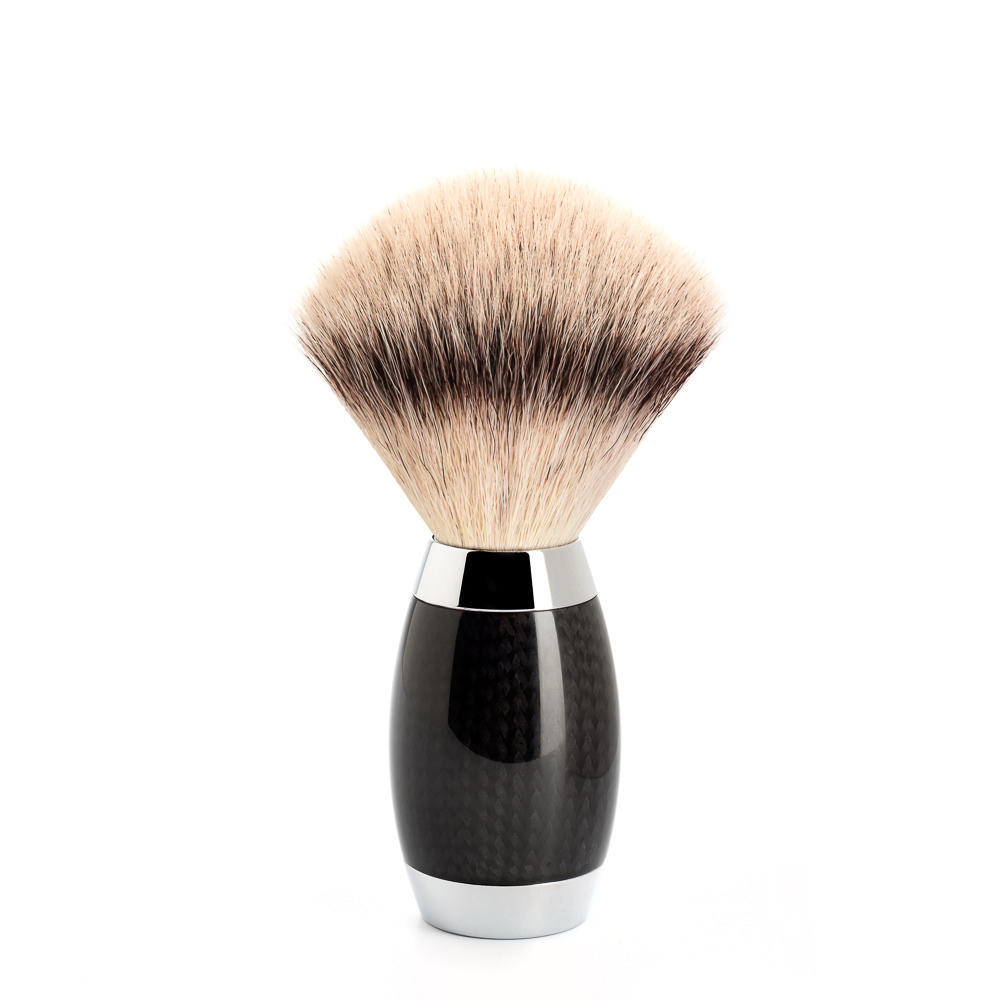 MUHLE EDITION No. 1 Carbon Fibre Silvertip Fibre Shaving Brush - 433ED1